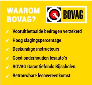 Auto Rijschool De-Verkeersschool.nl Rijles en Rijopleidingen Oosterhout en Breda BOVAG